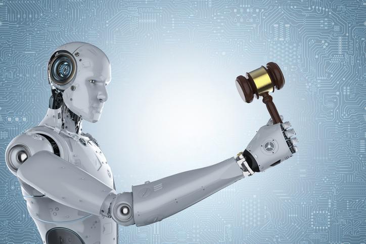 Un robot che amministra giustizia